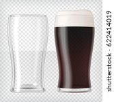 Realistic Beer Glasses. Mug...