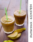 Two Smoothie Of Apples  Pears ...
