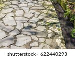 Ancient Stone Road With...