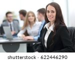 portrait of a smiling... | Shutterstock . vector #622446290