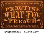 practise what you preach  ... | Shutterstock .eps vector #622453394