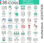 business finance project... | Shutterstock . vector #622457630