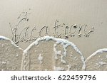 The Word Vacation Hand Drawn In ...