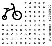 child bicycle icon illustration ... | Shutterstock .eps vector #622465670