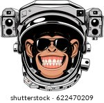 vector illustration of a funny... | Shutterstock .eps vector #622470209