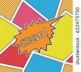 comic book speech bubble ... | Shutterstock .eps vector #622475750
