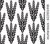 leaf pattern plain | Shutterstock .eps vector #622501448