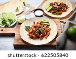 delicious taco with tequila... | Shutterstock . vector #622505840