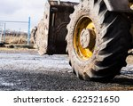 large tractor loader in the mud | Shutterstock . vector #622521650