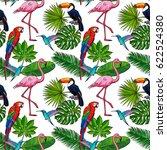 seamless pattern  backdrop... | Shutterstock .eps vector #622524380