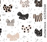 seamless hand drawn pattern... | Shutterstock .eps vector #622534268