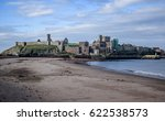peel castle as seen from the... | Shutterstock . vector #622538573