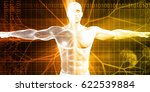 digital anatomy with technology ... | Shutterstock . vector #622539884