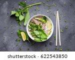 traditional vietnamese noodle...   Shutterstock . vector #622543850