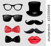 big hipster collection  | Shutterstock .eps vector #622550048