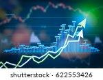 Stock Market Digital Graph...