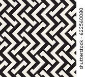 interlacing lines maze lattice. ... | Shutterstock .eps vector #622560080