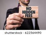 no hidden fees | Shutterstock . vector #622564490