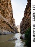 santa elena canyon  big bend... | Shutterstock . vector #622564634