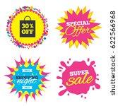 sale splash banner  special... | Shutterstock .eps vector #622566968