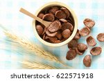 chocolate cereal   it's very... | Shutterstock . vector #622571918