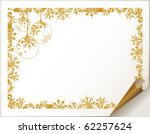 decorative  christmas  backdrop ... | Shutterstock .eps vector #62257624