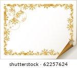 decorative  christmas  backdrop ... | Shutterstock .eps vector #62257624