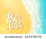 vector hand lettering summer... | Shutterstock .eps vector #622578170