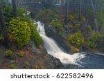 Waterfall At Mount Rainer...