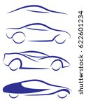 car abstract logo | Shutterstock .eps vector #622601234