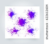 vector abstract background with ... | Shutterstock .eps vector #622612604