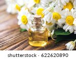 Essential Oil In Glass Bottle...