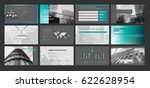 presentation templates. use in... | Shutterstock .eps vector #622628954