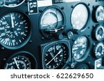 cockpit helicopter  ... | Shutterstock . vector #622629650