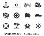cruise web icons for user...   Shutterstock .eps vector #622636313