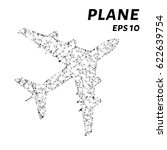 the plane consists of points ... | Shutterstock .eps vector #622639754