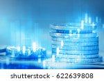 financial markets concept | Shutterstock . vector #622639808