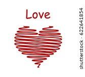 heart love | Shutterstock .eps vector #622641854