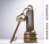 3d illustration. luxury hotel... | Shutterstock . vector #622644014