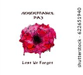 remembrance day. lest we forget.... | Shutterstock .eps vector #622651940