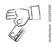 bank credit card | Shutterstock .eps vector #622659200