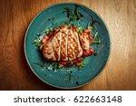 grilled chicken breast | Shutterstock . vector #622663148