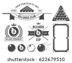 billiards accessories and...   Shutterstock .eps vector #622679510