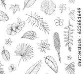 vector pattern isolated... | Shutterstock .eps vector #622681649