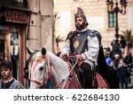 palermo  italy   april 14 2017  ... | Shutterstock . vector #622684130