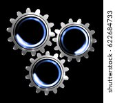 gears | Shutterstock .eps vector #622684733