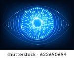 eye neon web icon. | Shutterstock .eps vector #622690694