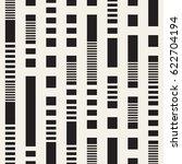 black and white irregular... | Shutterstock .eps vector #622704194