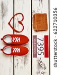 towel  number  keds and... | Shutterstock . vector #622710356