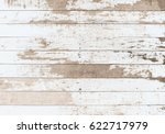 Wooden Board White Old Style...